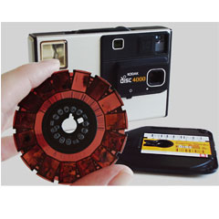 disc film format dimension once scanned into digital